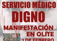 Manifestación por una sanidad digna