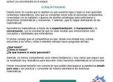 Comunicación familias Colegio Público Raimundo Lanas